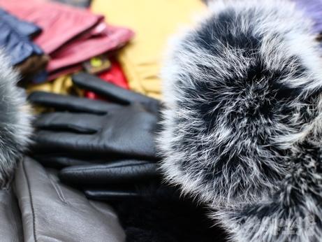 韓国 ソウル 買い物 光熙市場 レザーグローブ ラムレザー 手袋