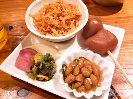 新宿 山形料理 韓国料理 濁酒本舗 tejimaul 塩納豆 玉こんにゃく