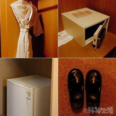 ソウル 東大門 ホテル ラマダソウル東大門 ラマダホテル 設備 バスローブ