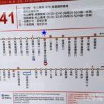 台北 民権西路 桃園空港 バス 路線図 バス停