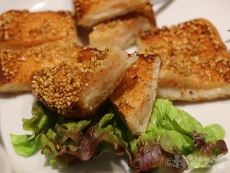 赤坂 中華料理 たけくま 芸能人 海老のすり身トースト
