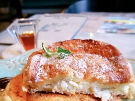 韓国グルメ 高速ターミナル GOTPMALL 新世界百貨店 リコッタチーズ パンケーキ JAJU
