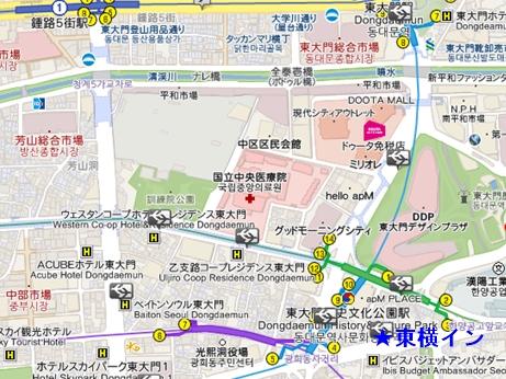 ソウル ホテル 東横イン 東大門