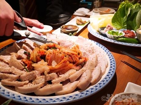 新宿 山形料理 韓国料理 濁酒本舗 tejimaul ポッサム 三元豚