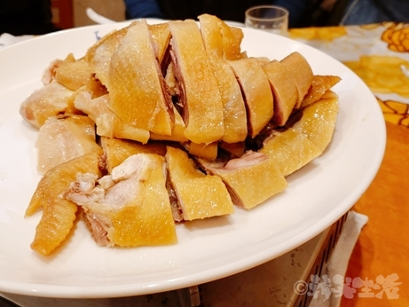 横浜 中華街 孤独のグルメ 南粤美食 粥コース 丸鶏の塩蒸し焼き