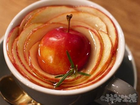 合井 カフェ ピポグレイ アップルティー
