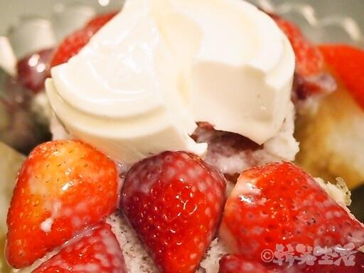 台湾 小時候冰菓室 イチゴかき氷