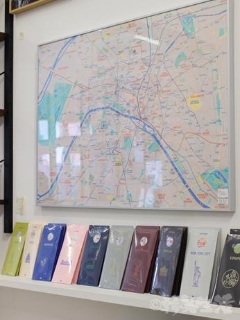 韓国 路線図 地図 デザイン ポスター ゼロパーゼロ ゼロスペース 店舗