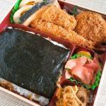 まい泉 テイクアウト 弁当 海苔弁 とんかつ