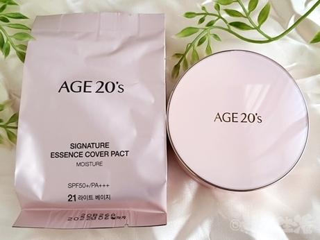 韓国コスメ ファンデ AGE20's カバーパクト レフィル