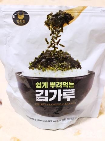 韓国 スーパー キムカル 韓国海苔