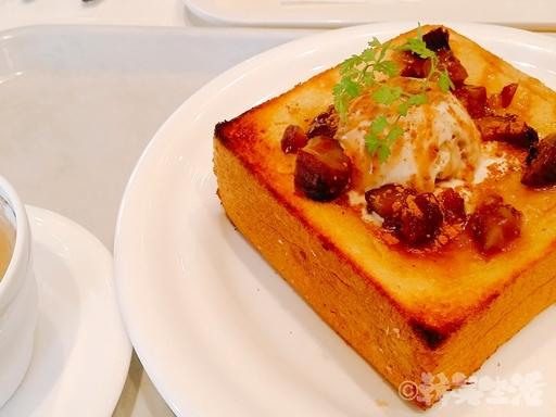 三越前 千疋屋 カフェ トースト