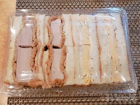 本所吾妻橋 船生 割烹料理 和食 玉子サンド カツサンド