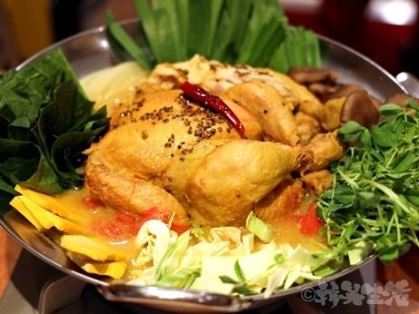 恵比寿 ネパール料理 クンビラ コラーゲン鍋 芸能人
