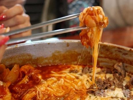 チーズタッカルビ 明洞 韓国グルメ プルコギチーズ
