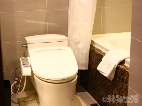 韓国 ソウル ホテル 明洞 ロワジール ミリオレ 風呂 トイレ