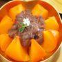 アイス紅柿とあずきの贅沢なスイーツ@ソウル景福宮