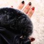 指なしの革手袋が可愛すぎる! と、私は思うんだけど(笑)